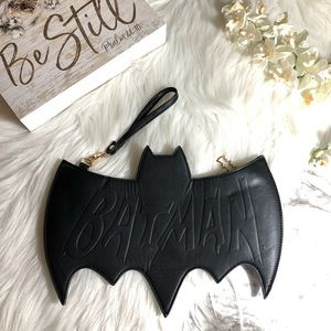 Batman Wristlet Clutch Purse